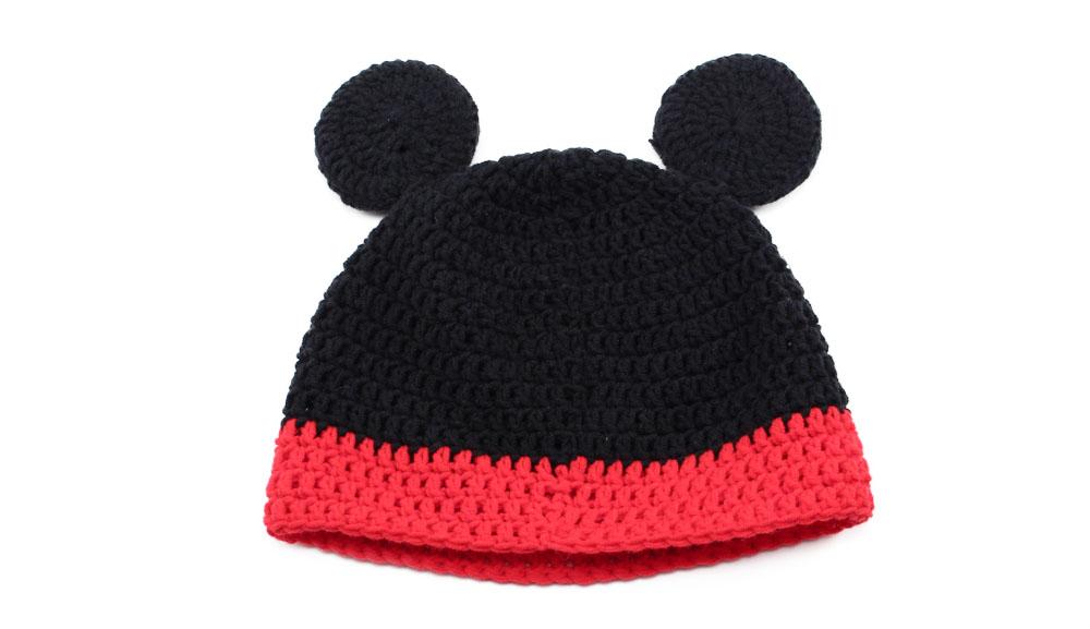 Fantástico Ganchillo Libre Patrón De Mickey Sombrero De Ratón ...