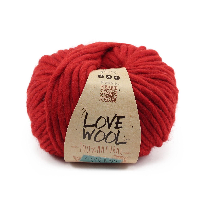 lanas-katia-love-wool-115-rojo