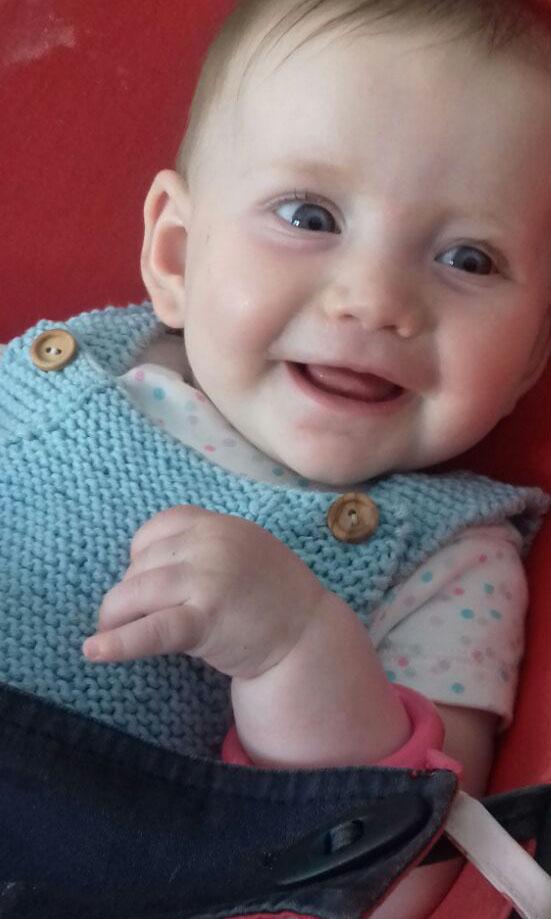 Peto para bebé de alogodón