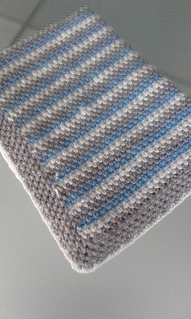 Tamaño de las mantas de ganchillo para bebes